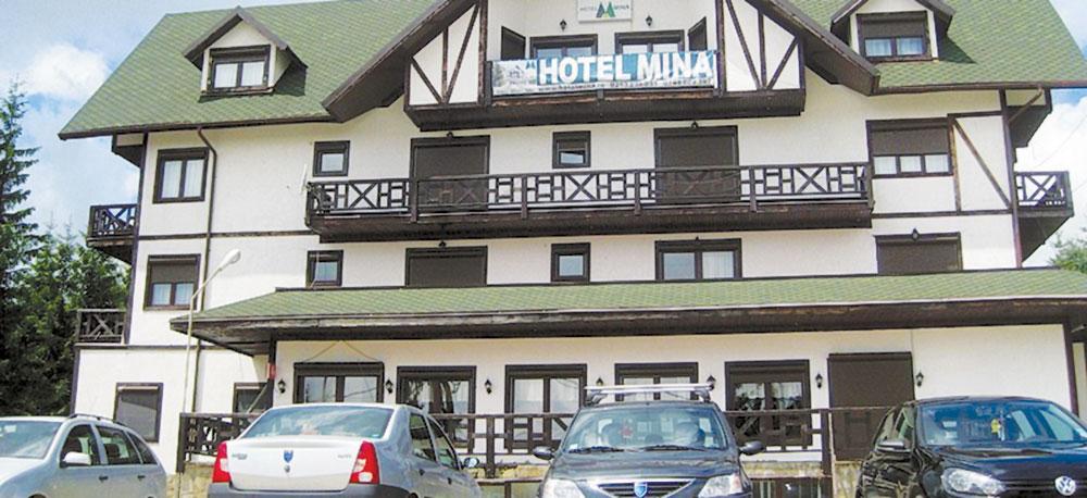 Morişca de bani de la Hotel Mina-Rânca