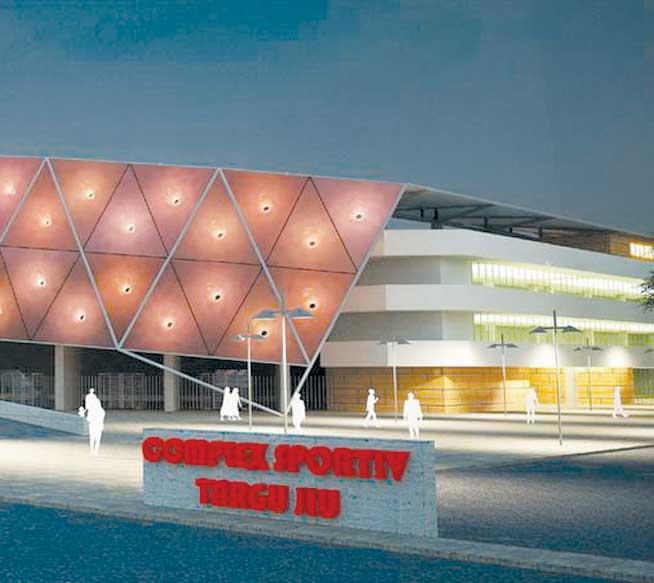 Oraşul Târgu Jiu va avea un stadion şi o sală a sporturilor ultra-moderne!
