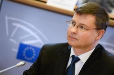 Vicepreședintele Comisiei Europene, Valdis Dombrovskis, la București