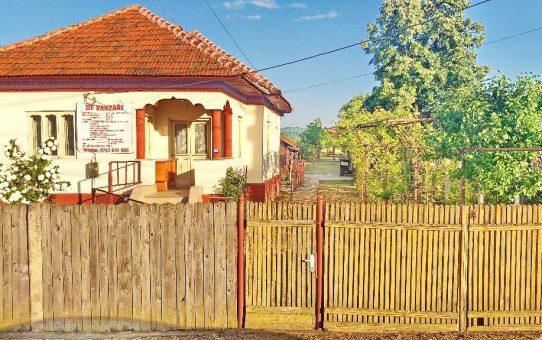 Vând casă în satul Drăguțești, strada Principală nr.288, județul Gorj, la 7 km de orașul Târgu Jiu.